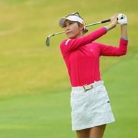 「5年ぶりくらい」にアイアンを新調した金田久美子 2021年 Tポイント×ENEOSゴルフトーナメント 初日 金田久美子