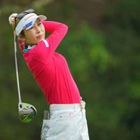 久しぶりの好発進で、こちらも嬉しくなりますね。 2021年 Tポイント×ENEOSゴルフトーナメント 初日 金田久美子