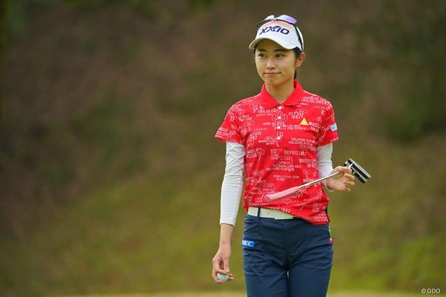 2021年 Tポイント×ENEOSゴルフトーナメント 初日 安田祐香 そろそろ初優勝、お願いしますね。