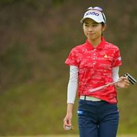 そろそろ初優勝、お願いしますね。 2021年 Tポイント×ENEOSゴルフトーナメント 初日 安田祐香
