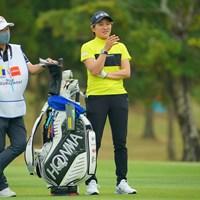 梅ちゃんとのコンビも久々じゃない? 2021年 Tポイント×ENEOSゴルフトーナメント 初日 成田美寿々