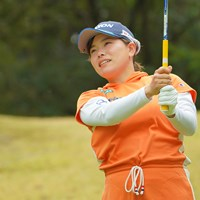 地の利を生かして優勝したいね。 2021年 Tポイント×ENEOSゴルフトーナメント 初日 勝みなみ