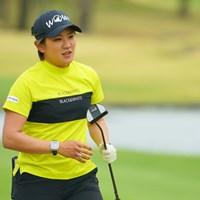 2021年から新パターを投入した 2021年 Tポイント×ENEOSゴルフトーナメント 初日 成田美寿々