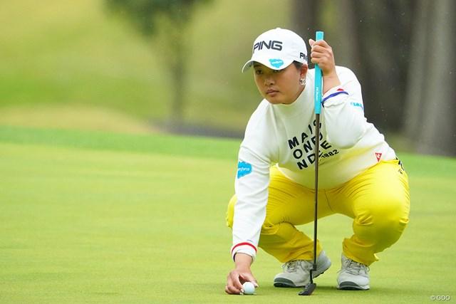 2021年 Tポイント×ENEOSゴルフトーナメント 2日目 鈴木愛 感謝の思いを口にした鈴木愛