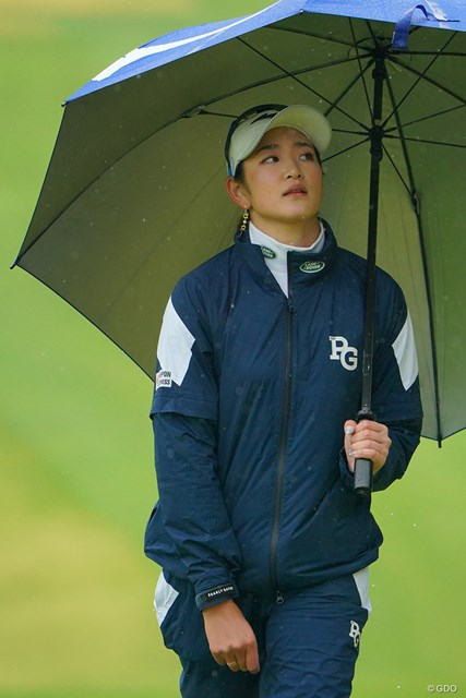 2021年 Tポイント×ENEOSゴルフトーナメント 2日目 原英莉花 うまく行かない時もある。