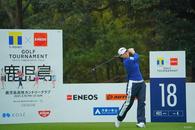 2021年 Tポイント×ENEOSゴルフトーナメント 3日目 渋野日向子 第2ラウンドが終了。渋野日向子は6打差15位で最終ラウンドへ
