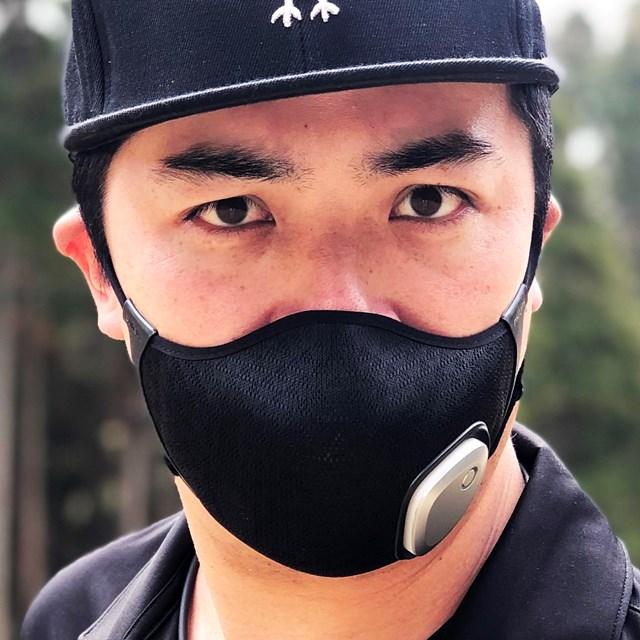 1万円の進化系マスクはゴルフ向き? 18Hプレーで徹底検証 モデルはYouTuberのDa-Birdさん(※提供:へたっぴゴルフ研究所)