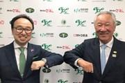 2021年 ジャパンプレーヤーズチャンピオンシップ 佐藤元サトウ食品社長 青木功JGTO会長