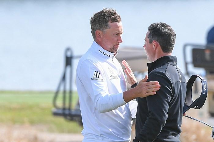 ポ―ルターがマッチプレーのあり方に一家言 (Ben Jared/PGA TOUR via Getty Images) 2021年 WGCデルテクノロジーズ マッチプレー 初日 イアン・ポールター ロリー・マキロイ