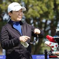 21年初参戦となる申ジエ 2021年 アクサレディスゴルフトーナメント in MIYAZAKI 事前