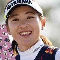相変わらずかわいい~じゃん 2021年 アクサレディスゴルフトーナメント in MIYAZAKI 初日 永井花奈