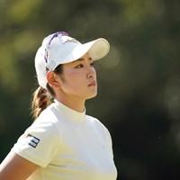 力強いプレーを見せた原英莉花 2021年 アクサレディスゴルフトーナメント in MIYAZAKI 初日 原英莉花