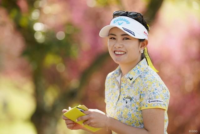 2021年 アクサレディスゴルフトーナメント in MIYAZAKI 2日目 河本結 ツアー2勝目を目指す河本結