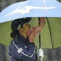 ひどい雨 2021年 アクサレディスゴルフトーナメント in MIYAZAKI 最終日 原英莉花
