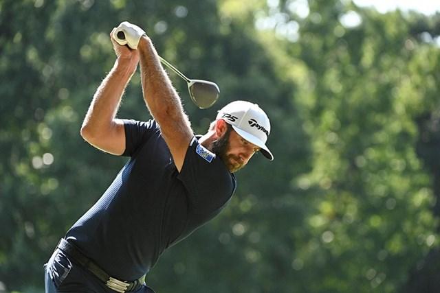 渋野日向子のスイング改造 気になる飛距離ダウンを徹底分析 トップで掌屈している手首はDJと一緒(Ben Jared/PGA TOUR via Getty Images)