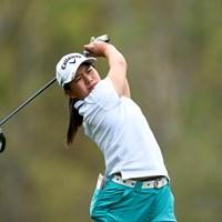 梶谷翼は13ホールを終えてイーブンパー(提供:Augusta National Golf Club) 2021年 オーガスタナショナル女子アマ 初日 梶谷翼