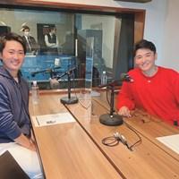 金谷拓実が丸山茂樹のラジオ番組に出演した(提供:TOKYO FM) 2021年 金谷拓実 丸山茂樹