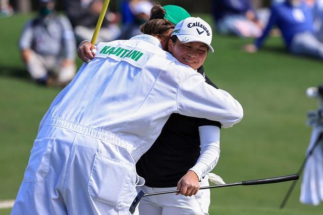 日本勢初の快挙を成し遂げた梶谷翼。渋野日向子とは旧知の仲という(提供:Augusta National Golf Club)