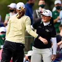 勝負はプレーオフで決した(提供:Augusta National Golf Club) 2021年 オーガスタナショナル女子アマ 梶谷翼