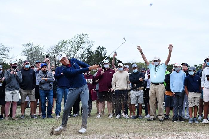 ジョーダン・スピースが4季ぶりの復活優勝を遂げた※撮影は大会3日目(Streeter Lecka/Getty Images) 2021年 バレロテキサスオープン 3日目 ジョーダン・スピース