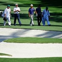 カプルスは5日、シャウフェレと練習ラウンド(提供:(提供:Augusta National Golf Club) 2021年 マスターズ 事前 フレッド・カプルス
