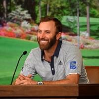 前年覇者として会見に臨むダスティン・ジョンソン(提供:Augusta National Golf Club) 2021年 マスターズ 事前 ダスティン・ジョンソン