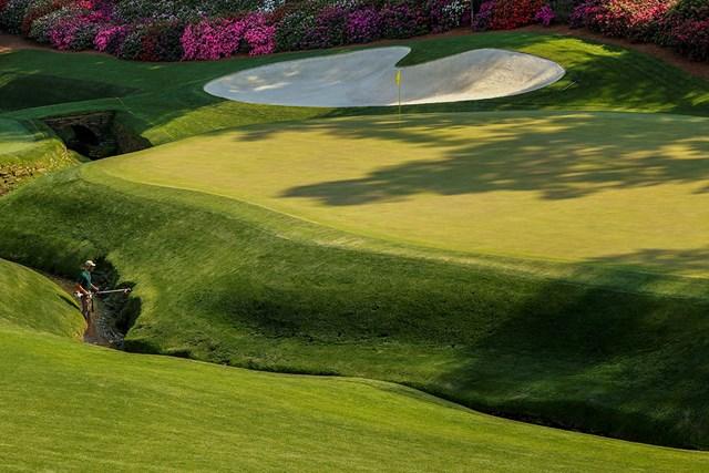 コースの整備に余念はない(提供:Augusta National Golf Club)