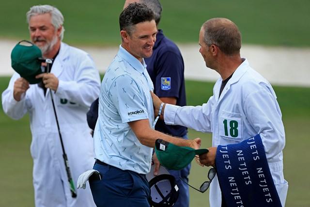 2021年 マスターズ 初日 ジャスティン・ローズ 40歳のジャスティン・ローズが単独首位発進した(提供:Augusta National Golf Club)