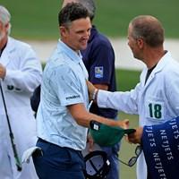 40歳のジャスティン・ローズが単独首位発進した(提供:Augusta National Golf Club) 2021年 マスターズ 初日 ジャスティン・ローズ
