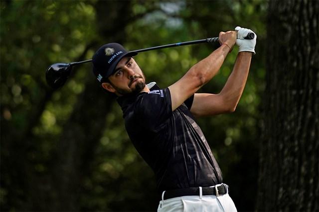 2021年 マスターズ 初日 アブラム・アンセル アブラム・アンセルは痛恨の2罰打(提供:Augusta National Golf Club)