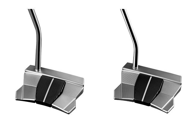 2021年 PHANTOM X パター X11(左)とX11.5(右) ミッドベンドの「X11」(左)とローベンドの「X11.5」(右)