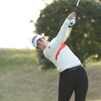ツアー3勝目を目指すペ・ソンウ 2021年 富士フイルム・スタジオアリス女子オープン 2日目 ペ・ソンウ