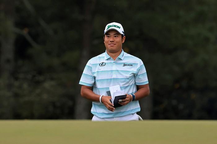 松山英樹が歴史を変える。18番ではスーパーパーセーブ(提供:Augusta National Golf Club) 2021年 マスターズ 3日目 松山英樹