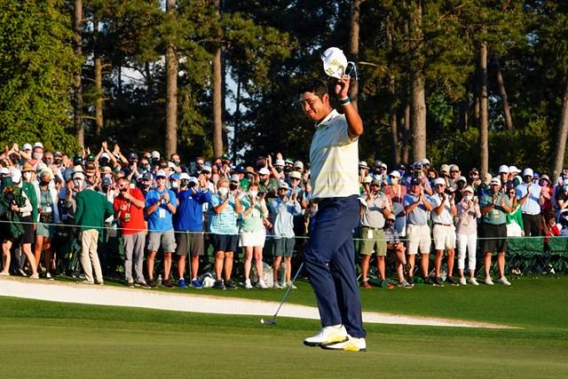 2021年 マスターズ 4日目 松山英樹 最後は苦笑いのタップインボギーとなったが、日本のゴルフ界の未来を切り開いた(提供:Augusta National Golf Club)