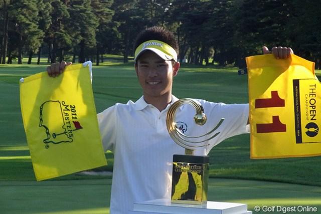 2010年 アジアアマチュア選手権 松山英樹 2010年「アジアアマチュア選手権」を制してマスターズ行きの切符を手にした松山英樹