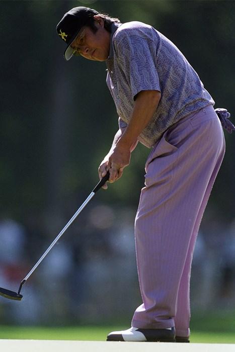 ジャンボ尾崎が出場した最後のマスターズは2000年大会(Mandatory Credit Andrew Redington/Allsport) 2000年 マスターズ 尾崎将司