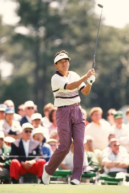 1993年 マスターズ 尾崎直道 1993年「マスターズ」に出場したジョー・オザキこと尾崎直道(Augusta National/Getty Images)