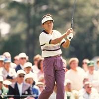 1993年「マスターズ」に出場したジョー・オザキこと尾崎直道(Augusta National/Getty Images) 1993年 マスターズ 尾崎直道