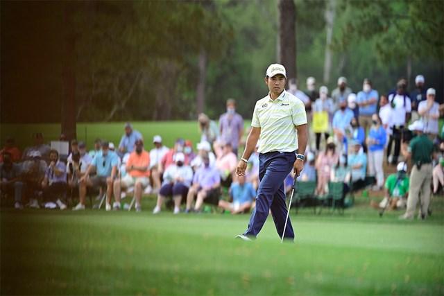 2021年 マスターズ 最終日 松山英樹 松山英樹は最後まで冷静だった(提供:Augusta National Golf Club)