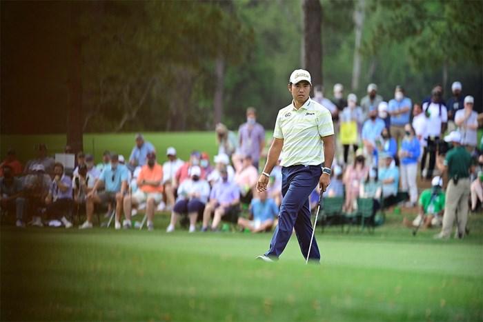 松山英樹は最後まで冷静だった(提供:Augusta National Golf Club) 2021年 マスターズ 最終日 松山英樹