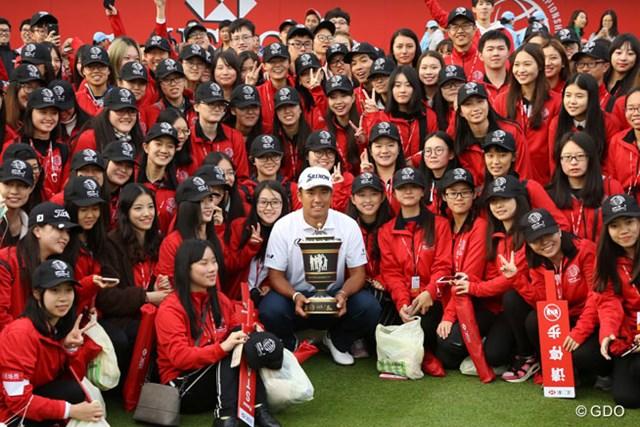 2016年 WGC HSBCチャンピオンズ 最終日 松山英樹 2016年「WGC HSBCチャンピオンズ」