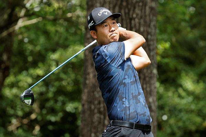 同じアジア勢として松山の優勝を祝福したケビン・ナ(提供:Augusta National Golf Club) 2021年 マスターズ 4日目 ケビン・ナ