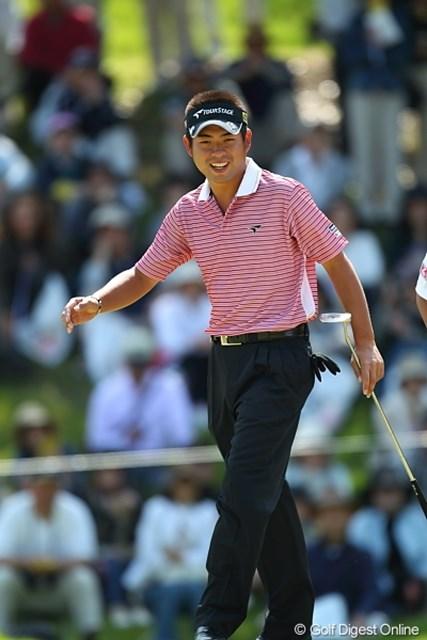 2010年 日本プロゴルフ選手権 日清カップヌードル杯 2日目 池田勇太 着実に上位で予選突破を果たした池田勇太。爆発はいつだ!?