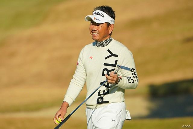 2021年 藤田寛之 マスターズVは藤田寛之ら多くの男子プロに感動を与えた(写真は2020年ゴルフ日本シリーズJTカップ)