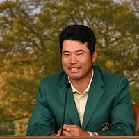 松山英樹がメッセージに込めたものとは…(提供:Augusta National Golf Club) 2021年 マスターズ 4日目 松山英樹