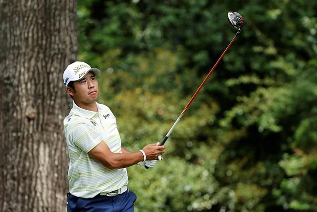 2021年 マスターズ 最終日 松山英樹 スリクソンZX5ドライバーでメジャー初制覇を果たした松山英樹(提供:Augusta National Golf Club)