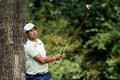 スリクソンZX5ドライバーでメジャー初制覇を果たした松山英樹(提供:Augusta National Golf Club)
