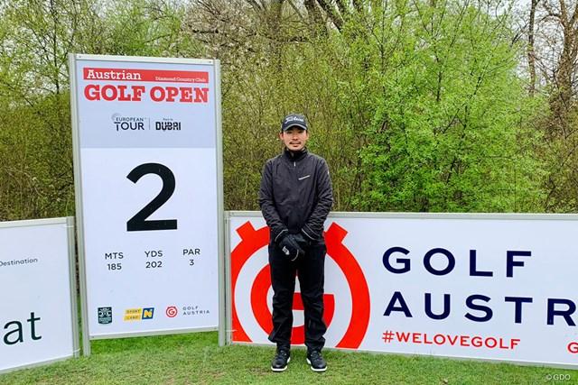 2021年 オーストリアオープン 事前 川村昌弘 オーストリアに来ました。たくさんの選手が「やったな!」って…