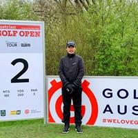 オーストリアに来ました。たくさんの選手が「やったな!」って… 2021年 オーストリアオープン 事前 川村昌弘