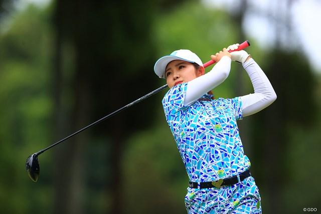 2021年 KKT杯バンテリンレディスオープン 初日 古江彩佳 古江彩佳が5アンダーの首位タイで発進した